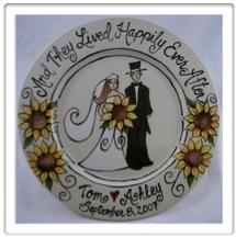 handpainted-wedding-plate